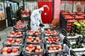 Ankara toptancı halinde hijyen önlemleri