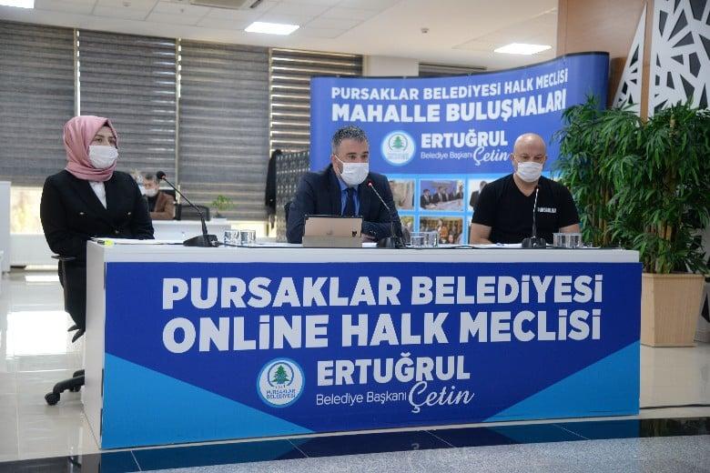 Pursaklar'da ikinci online halk meclisi