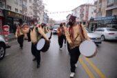 Pursaklar'da Ramazan Davulcuları İş Başında