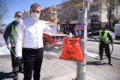 Başkan Çetin: Maske ve eldiven çöp değil, tıbbi atıktır