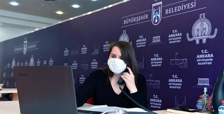 """Büyükşehir Belediyesi """"Psikolojik Destek Hattı"""" kurdu"""