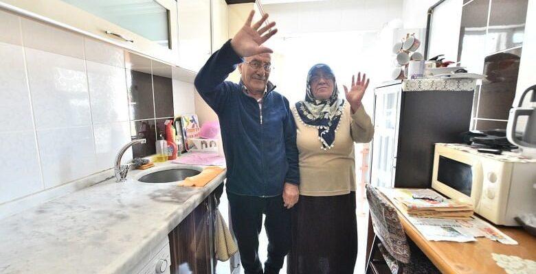 Mamak çözüm merkezi yaşlı çiftin imdadına yetişti