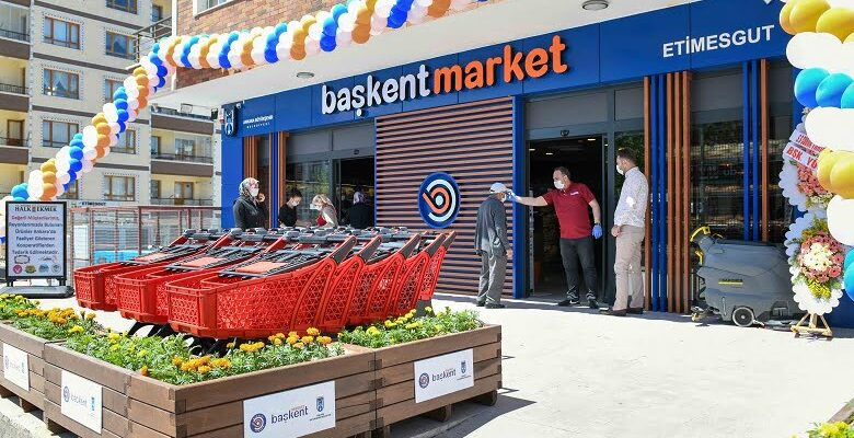 Başkent Market açıldı