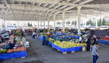 Altındağ'da 5 semt pazarı kapatıldı