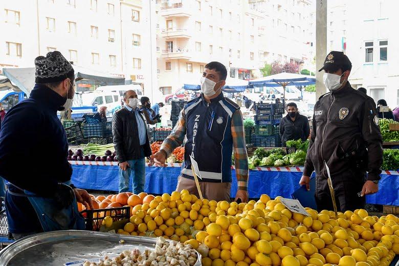 Altındağ pazarları örnek gösteriliyor