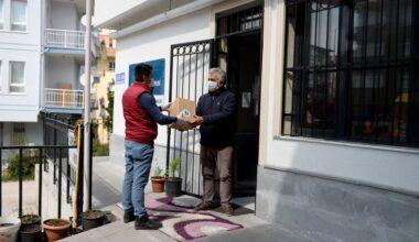 Altındağ'da muhtarlara temizlik kolisi
