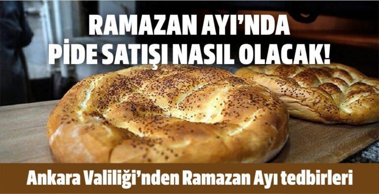 Ankara Valiliği'nden ramazan ayı tedbirleri