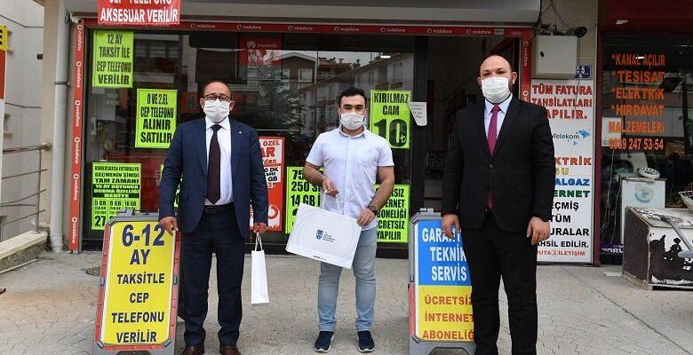 Ankara esnafına destek devam ediyor