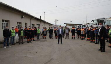 Gölbaşı Belediyesi'nde 1 Mayıs Coşkusu
