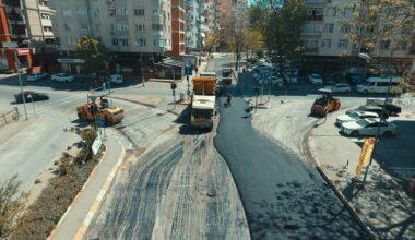 İstanbullular evdeyken yollar yapılıyor