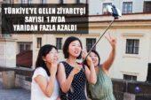 Türkiye'ye gelen ziyaretçi sayısı bir ayda yarıdan fazla azaldı
