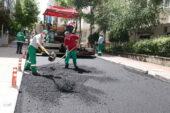 Çankaya'da kent merkezine asfalt