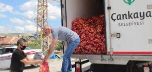 Çankaya'da dar gelirli vatandaşlara yardım