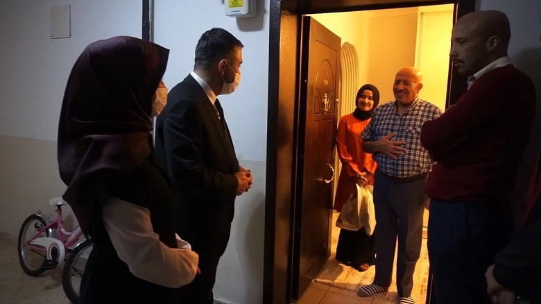 Pursaklar'ın Aziz Şehitlerinin Ailelerine Anlamlı Ziyaret