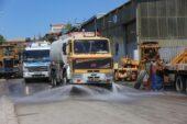 Yenimahalle Belediyesi sanayi sitelerine de el attı