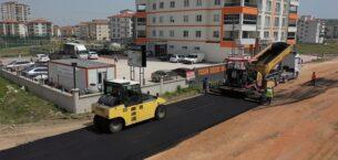 Akyurt'tan Yenimahalle'ye asfalt seferberliği