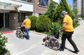 Engelliler haftasına özel tekerlekli sandalye desteği