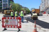 Büyükşehir'den Akyurt'a 675 ton asfalt