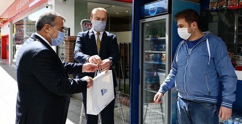 Büyüşehir'den maske desteği
