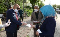 Keçiören Belediyesi 1 milyon adet maske dağıttı