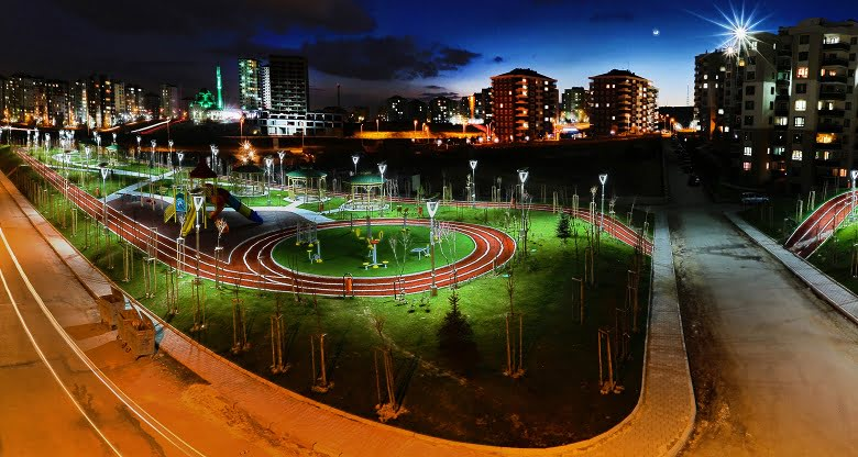 Yenimahalle'de tasarruflu parklar