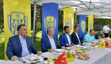 Belediye Başkanları Ankaragücü için bir araya geldi