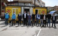 Gölbaşı Belediyesi Taksicilerinin Yanında