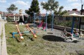 Gölbaşı Belediyesi park ve bahçelerini yaza hazırlamaya devam ediyor