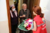 Gölbaşı Belediyesi şehit babalarını yalnız bırakmadı…