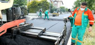 Çankaya asfaltta yeni normale döndü