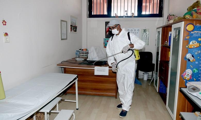 Çankaya'da dezenfekte çalışmaları devam ediyor