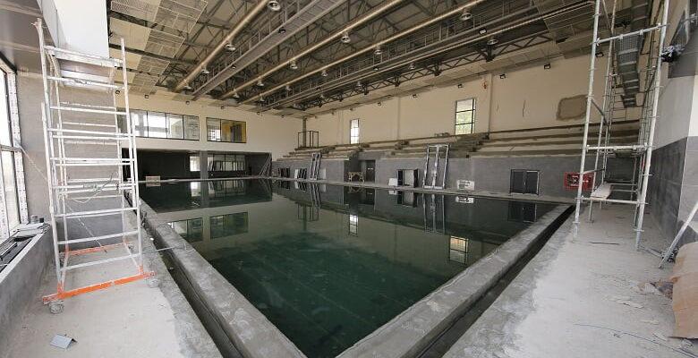 Çiğdem Yüzme Havuzunda Çalışmalar Hızlandı