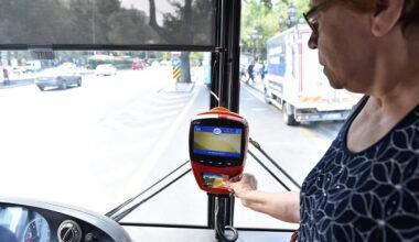 65 yaş ve üzeri vatandaşlara toplu taşıma hizmeti açıldı