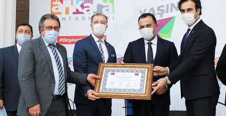 Ankara Kent Konseyi'ne büyük onur