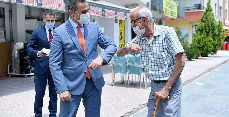 Başkan Köse'den esnafa ve vatandaşa maske