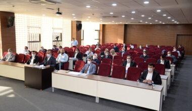 Pursaklar'da Sosyal Mesafeli Meclis Toplantısı