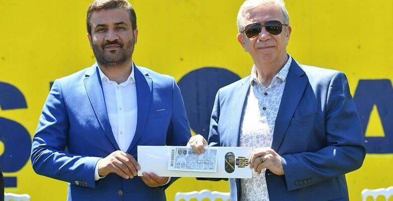 Başkan Yavaş'tan bir destekte Ankaragücü'ne