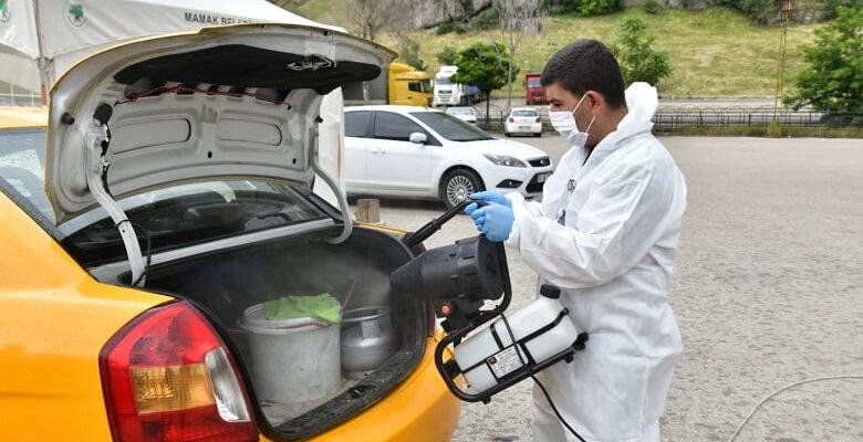 Mamak'ta dezenfekte çalışmaları hız kesmiyor