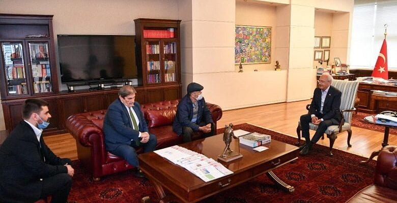 Çubuklu şehit babasından Kılıçdaraoğlu'na ziyaret