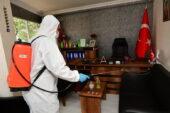 Mamak Belediyesi İşyerlerini Dezenfekte Ediyor