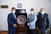 Başkan Balcı'ya teşekkür ziyareti