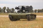 Türkiye'nin ilk insansız mini tankı