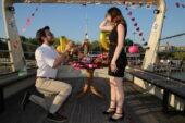 Korona Evlilik Teklifi Hayaline Engel Olamadı