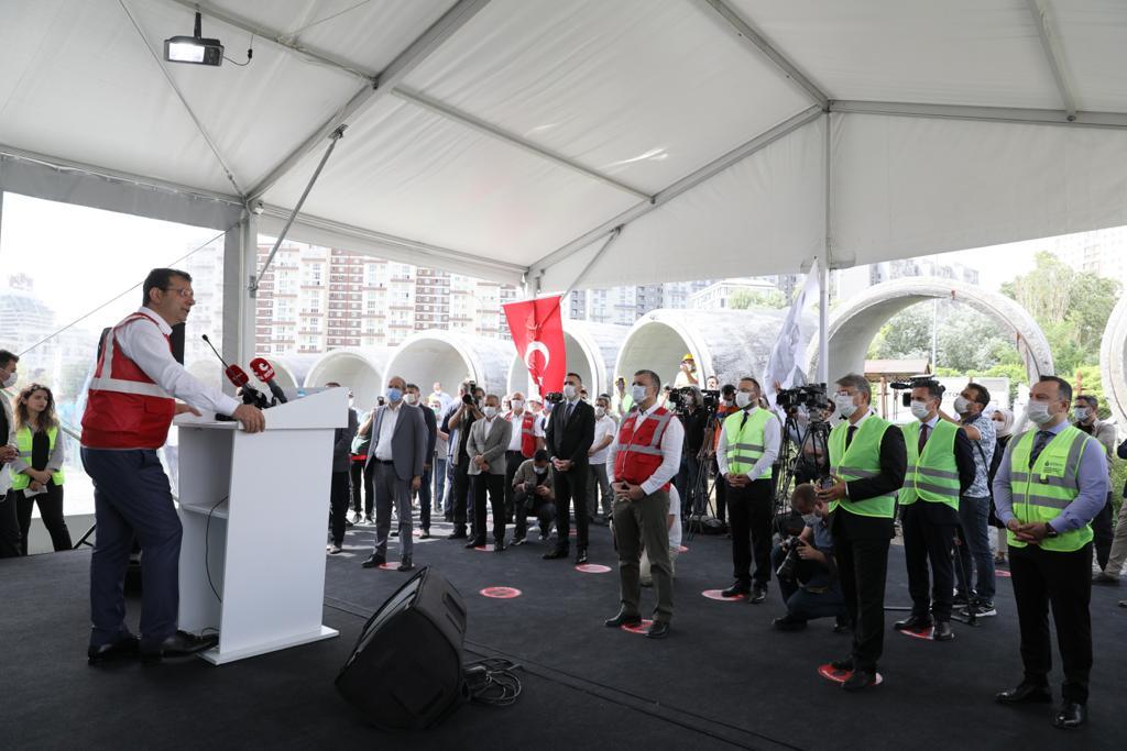 """İmamoğlu:""""Kanal İstanbul, İstanbul'a Bin Kat Daha Fazla İhanettir"""""""