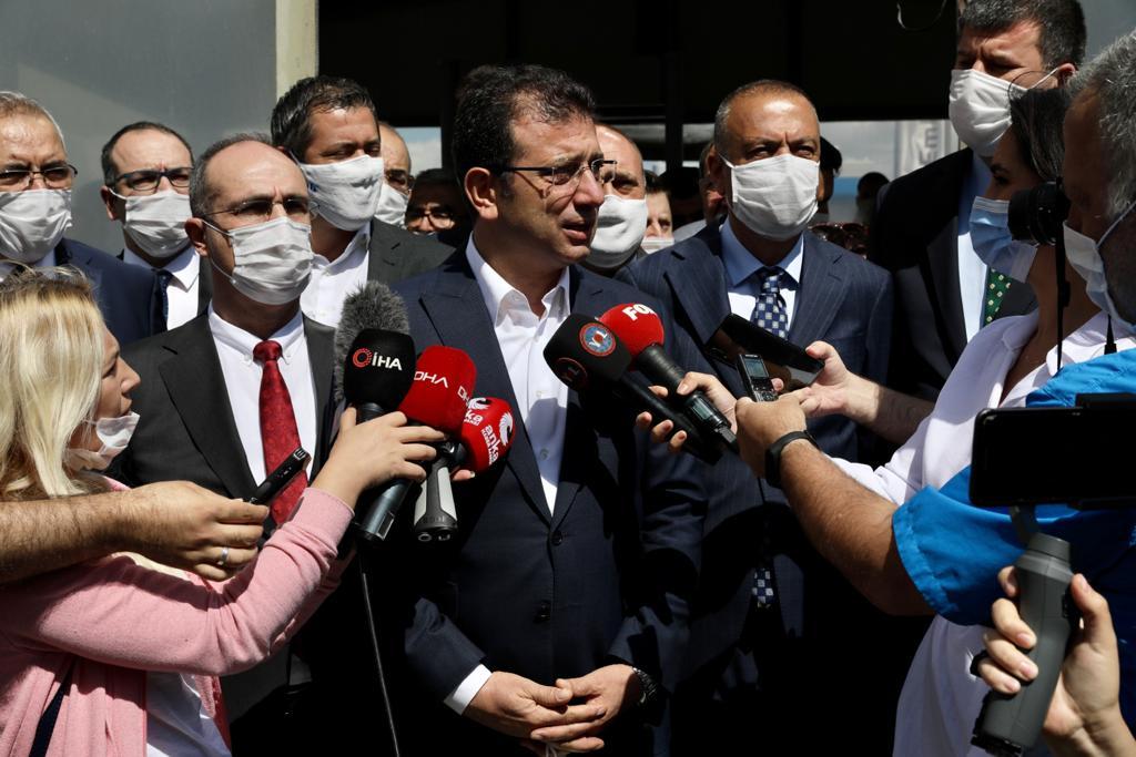 """İmamoğlu: """"Allah İstanbul'u Akla ve Bilime İnanmayanların Şerrinden Korusun"""""""