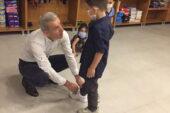 Başkan Ertuğrul Çetin yetim çocukları unutmadı