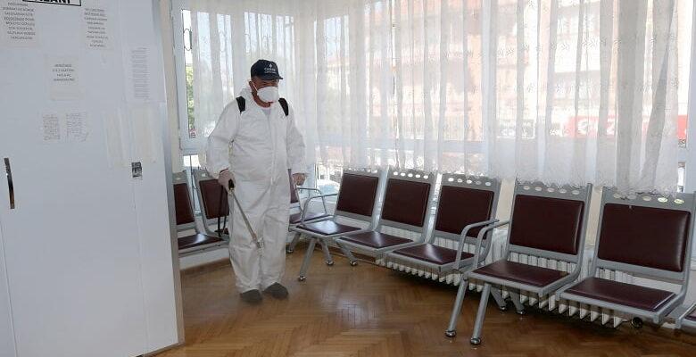 Çankaya Belediyesi Sağlık Kuruluşlarını İlaçladı