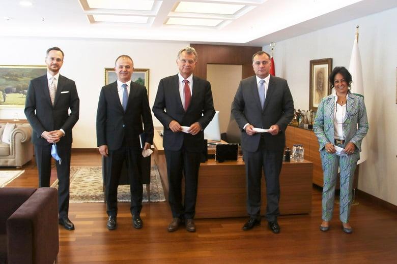 Başkanlar Taşdelen'in Acısını Paylaştılar