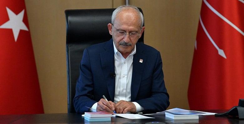 Kılıçdaroğlu'ndan siyasi parti liderlerine mektup
