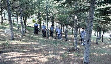 Mamak'ta mesire alanlarında temizlik seferberliği